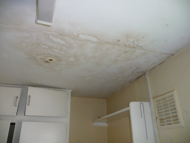 mould on ceiling