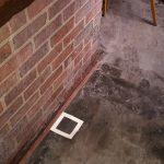 Sewage contamination in pub