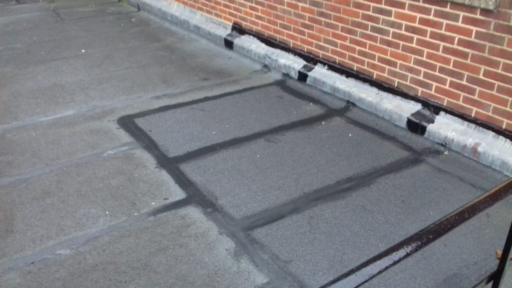 Repairs to the roof were not effective