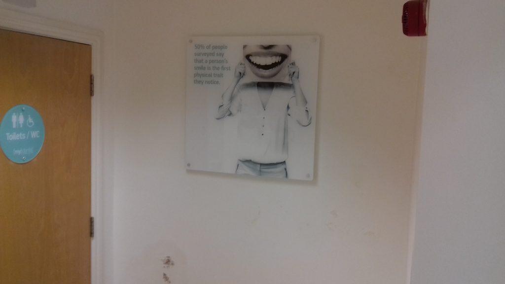 Penetrating damp on internal wall